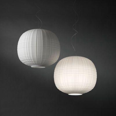 Suspension Tartan / Ø 35 cm Blanc - Foscarini 485€