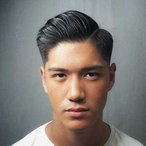 Hard Part Comb Over Fade For Asian Hair Best Asian Hairstyles For Men Best Asian Men S Haircuts Menshai Asian Man Haircut Asian Haircut Asian Men Hairstyle
