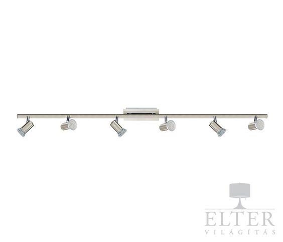 Lámpatípusok - Beltéri világítás - Mennyezeti lámpa - Eglo Rottelo 6-os spot lámpa