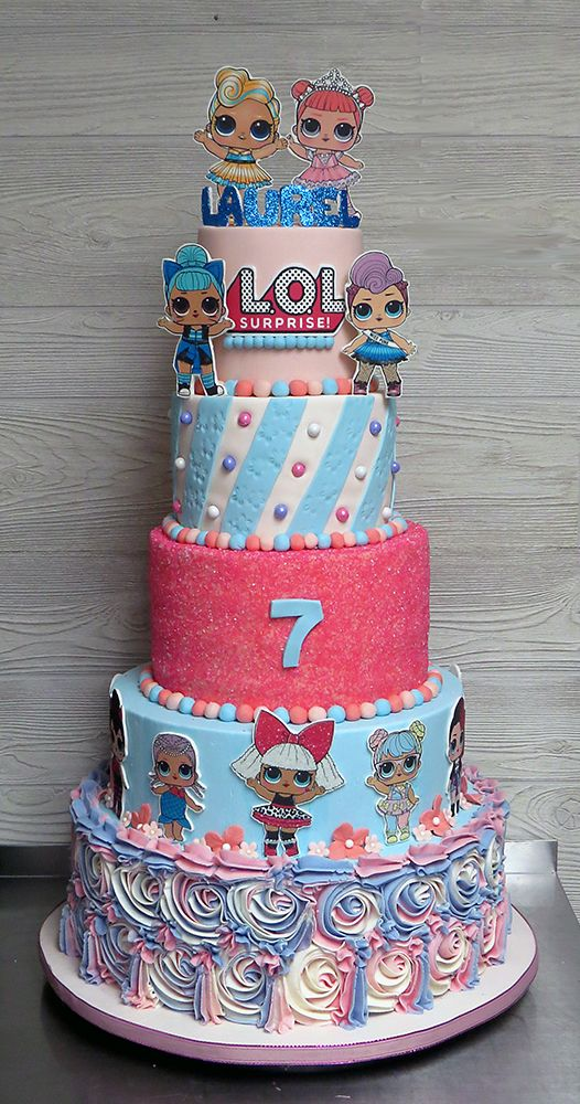 Lol Surprise Doll Cake Funny Birthday Cakes Doll Birthday Cake