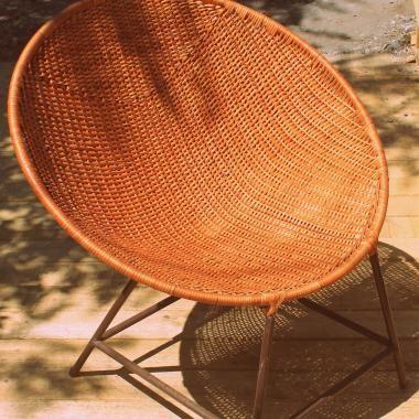 Silla nido, hecha en mimbre de Chimbarongo | Chimbarongo | Pinterest ...