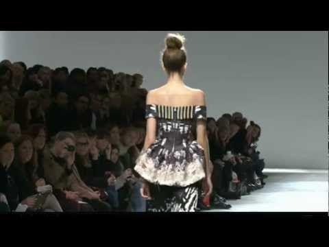 Mary Katrantzou - London Fashion Week (LFW) - Autumn Winter 2012-2013 - Full Fashion Show