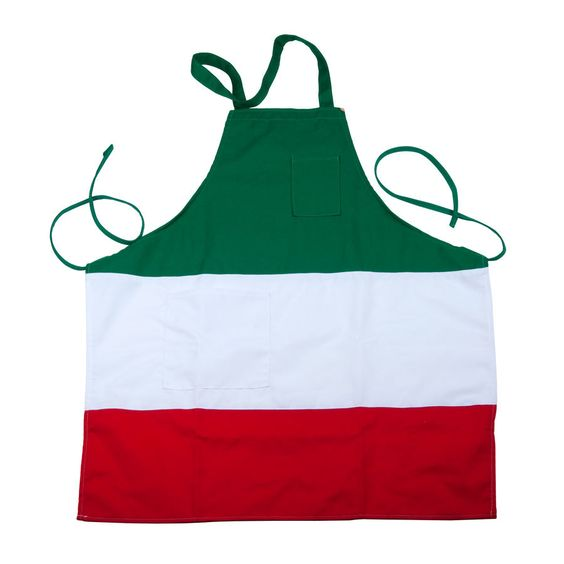 Italian 3 Panel Bib Apron  Great idea for a hostess gift.