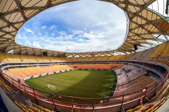 Estadio de Manaos, Brasil