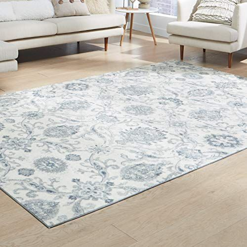 Maples Rugs Blooming Damask Large Area Rugs Carpet For Living Room Bedroom 7 X 10 Gray B Maples Rugs Living Room Carpet Rugs In Living Room
