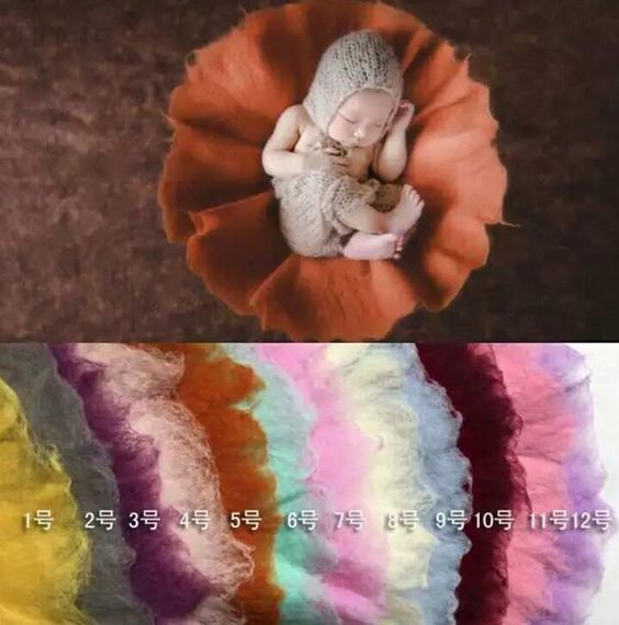 Find More Blanket & Swaddling Information about Newborn photography props round wet wool felt full moon one hundred days baby blanket new hot background pictures,High Quality Blanket & Swaddling from Children's Paradise World on Aliexpress.com