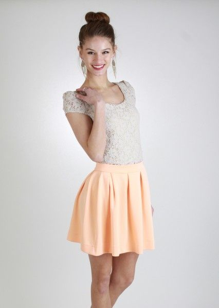 Flowy Short Skirt ~ Fitted Top - Fashion ~ Summer Sizzlers ...