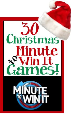 Minute to win it holiday themes and christmas holidays on for Outdoor christmas activities for adults