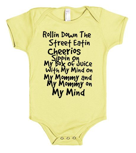 my mind | Baby One Piece | Front