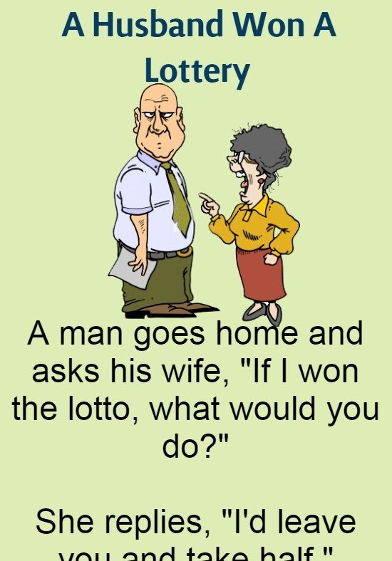 Funny Images About Husband : funny, images, about, husband, Husband, Lottery, (Funny, Story), Short, Jokes, Funny,, Funny, Relationship, Jokes,, Clean