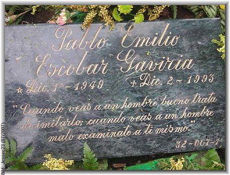 Pablo Emilio Escobar Gaviria (1949 - 1993)