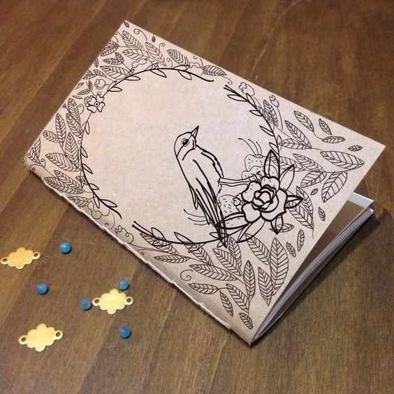 Handmade notebook by Bifocal