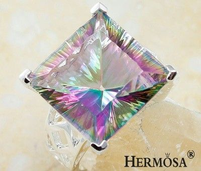 Boreal Europe Huge Square Mystical Fire Topaz Gaily