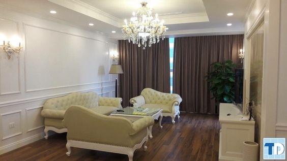 Thiết kế nội thất tân cổ điển chung cư giá rẻ