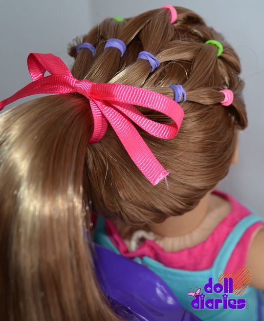 Excellent Pigtail Doll Hairstyles And Dolls On Pinterest Short Hairstyles Gunalazisus