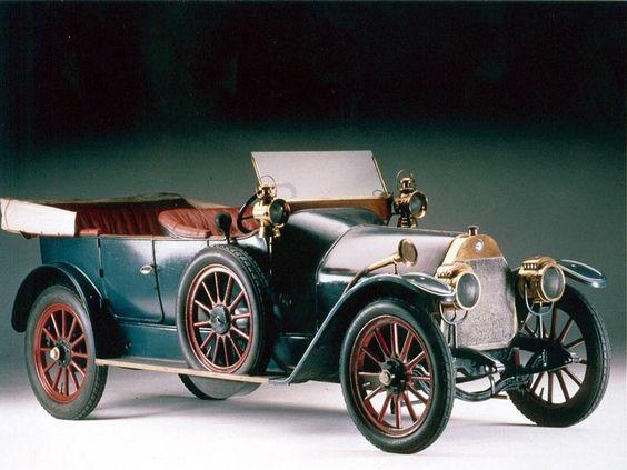 De eerste Alfa Romeo