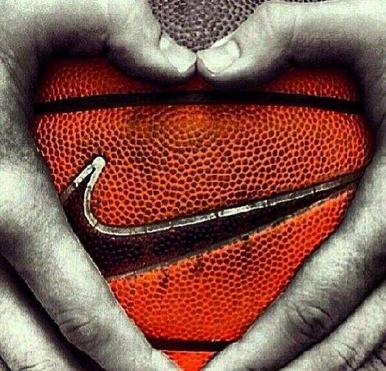 The love of basketball! Basketball season is right around the corner! #basketball #athletes