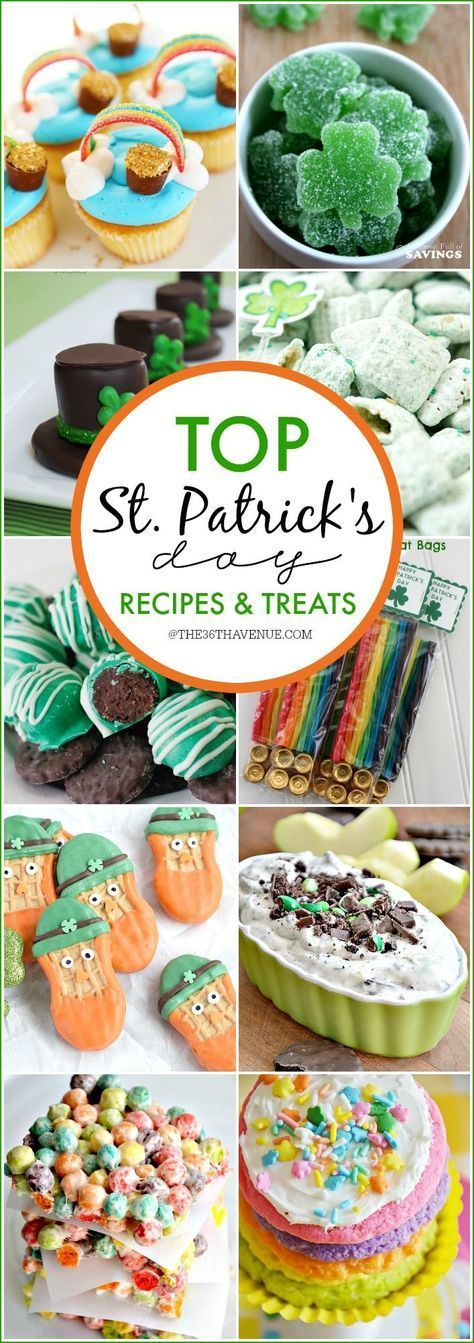 St Patricks Day Top Lucky Treats