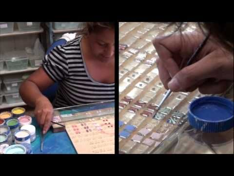 See the story of Jessica, one of Jolica's artisans in Chile.  She and her team create beautiful glass necklaces and earrings.