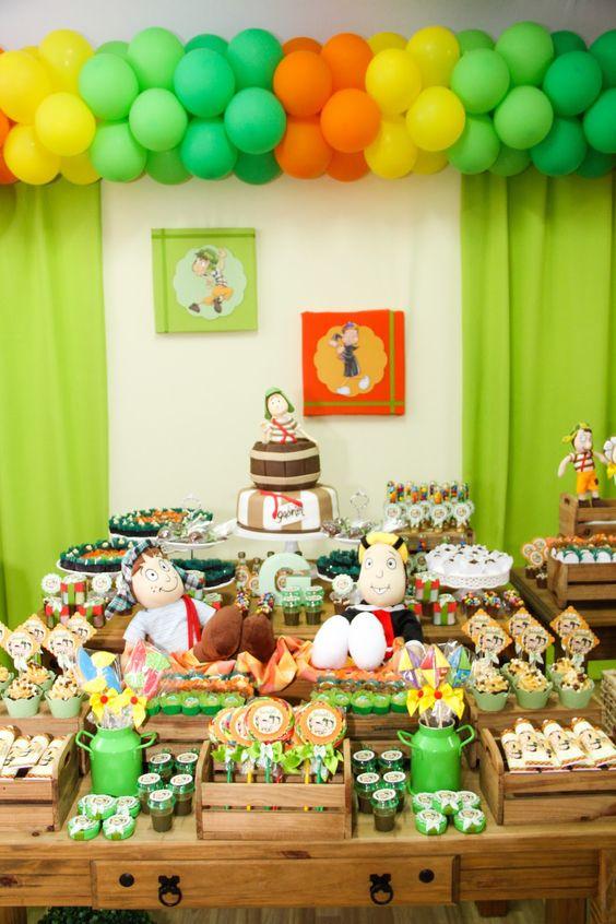 Buffet Oficina das Festas: Festa Turma do Chaves - Gabriel 9 anos: