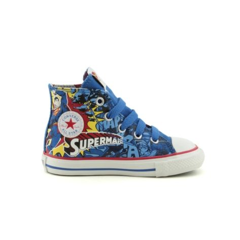 toddler converse superman athletic shoe blue f e e t