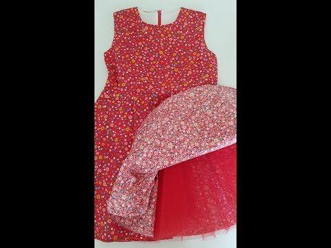 5 Yas Kiz Cocuk Elbise Yapimi 120 Beden Ozel Model Calisilmistir Elbise Yapimi Kizlar Elbise
