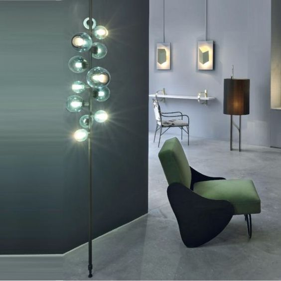POUENAT // Floor Lamps: Lighting Brands to see at Decorex London - see more at http://modernfloorlamps.net/lighting-brands-floor-lamps-decorex-london/