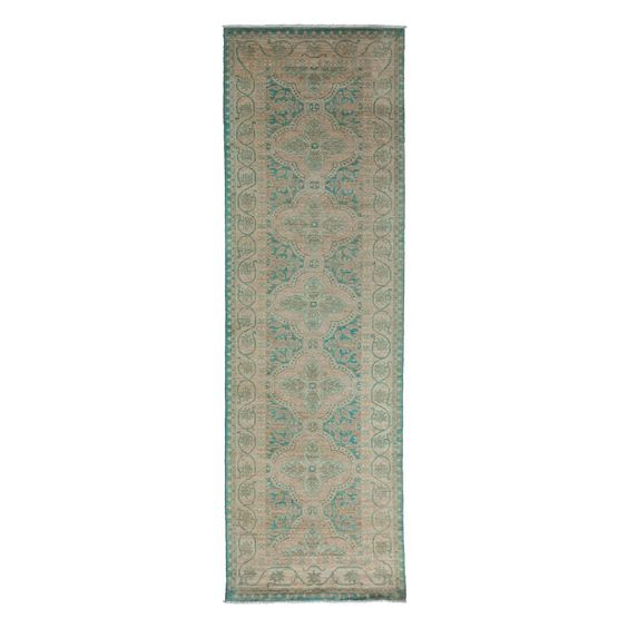 "Oushak Collection Oriental Rug, 3'3"" x 10' 1"""
