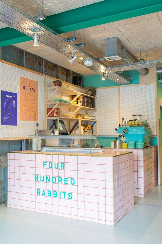400 Rabbits (London) Richardson Studio - Restaurant & Bar Design