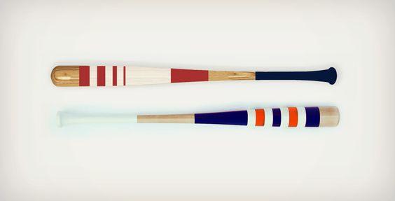 Really cool baseball bats made in Nashville by Mitchell Bat Company. #design #baseballbats #tooCoolToUse