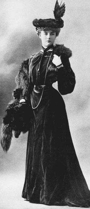 Tarje de Jeanne Paquin -  Diseñadora de moda