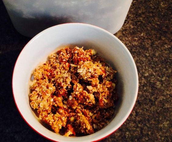 Rezept Crunchy Müsli von Caja1014 - Rezept der Kategorie sonstige Hauptgerichte
