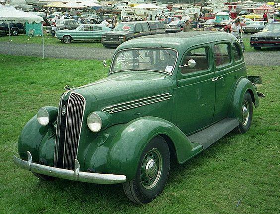 1936 plymouth 4 door sedan by splattergraphics via flickr for 1935 plymouth 4 door sedan