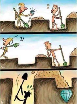 """""""Mantenha o foco no que você tem, não no que os outros conseguem"""""""