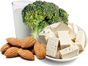 Tout ce dont vous avez besoin dans une alimentation 100 % végétale est visible en un visuel.
