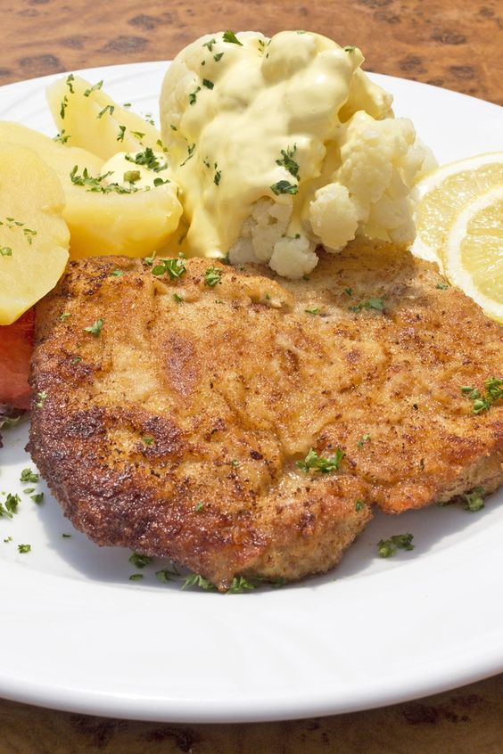 Italian Breaded Pork Chops Recipe with Parmesan Cheese, Bread Crumbs ...