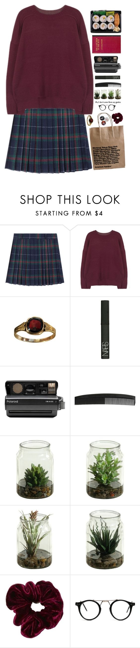 """Lauren"" by littlerubygirl ❤ liked on Polyvore featuring NARS Cosmetics, Polaroid, women's clothing, women, female, woman, misses and juniors"