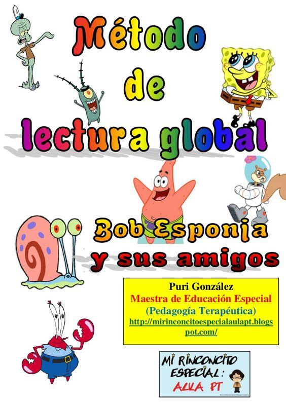 Bob esponja método de lectura global by Puri González Serrano via slideshare