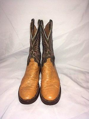 Lucchese US Men's Size 10D Ostrich Cowboy Boots https://t.co/eXK6dDJApP https://t.co/KqanvthF6U