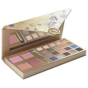 Shop Stila's A Whole Lot Of Love Gift Set at Sephora. This all-in-one makeup palette features 20 eye shadows, four blushes, and deluxe-size mascara.