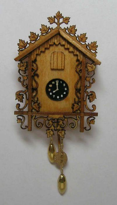 Mini Cuckoo Clock Kit