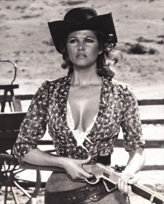 "Claudia Cardinale in ""Once Upon a Time in the West"" (Sergio Leone, 1968)"