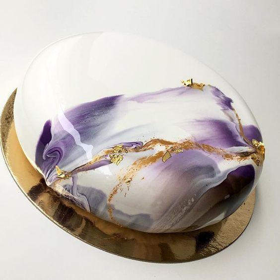 Mirror glaze: