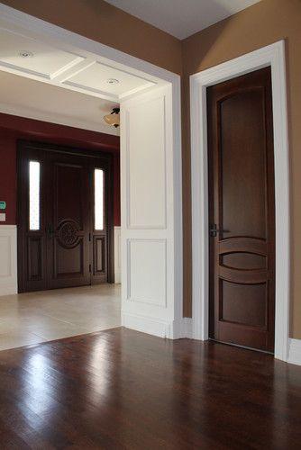 Contemporary interior doors i don 39 t like the wall color - Contemporary interior paint colors ...