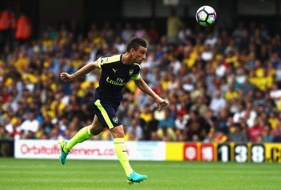 Laurent Koscielny Photos Photos - Watford v Arsenal - Premier League - Zimbio