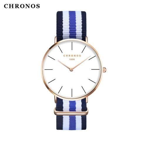 CHRONOS 1898 Classic Nylon-Watch-Poised Luxury