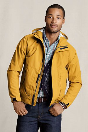 Lands' End Canvas Men's Waterproof Jacket | Spring Inspirations ...