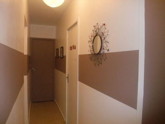 couloir escalier gris bleu beige fonc recherche google - Chambre Beige Fonce