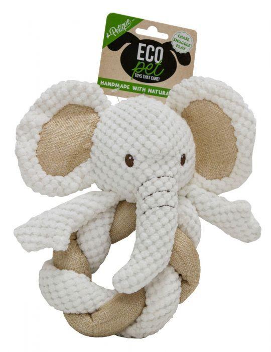 Eco Pet Toy Hemp Elephant Twist Pet Toys Pets Toys
