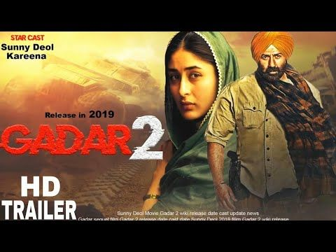 Gadar 2 Ek Prem Katha Return Fan Made Official Hd Trailer Gadar 2 Trailer Hd Youtube Hd Trailers Star Cast Hd Movies